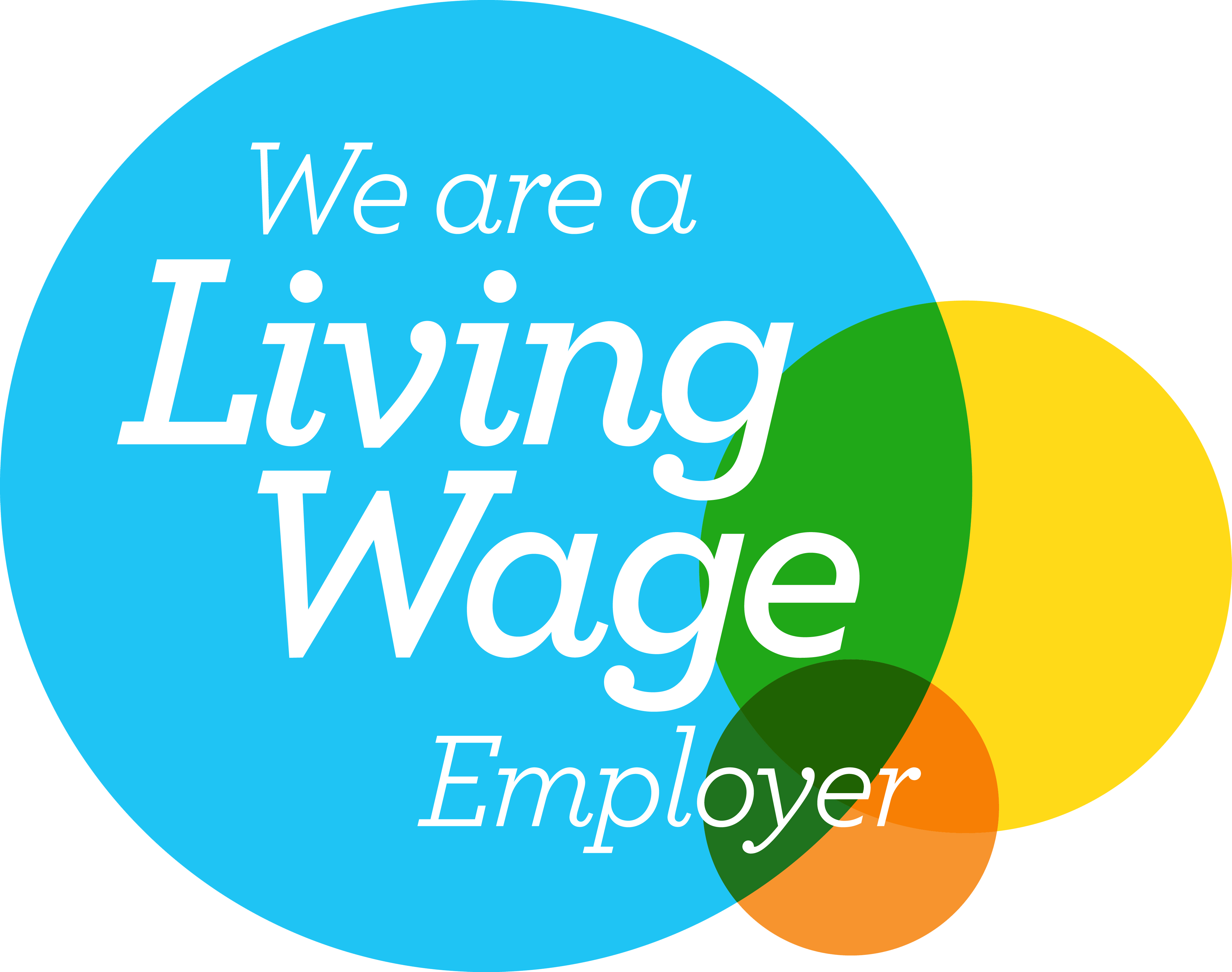 Living Wage Employer - English
